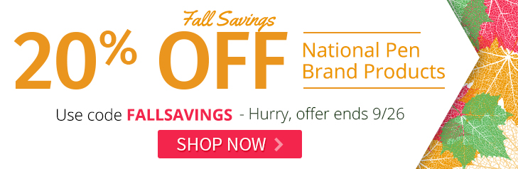 FALLSAVINGS 20% off NPC Product