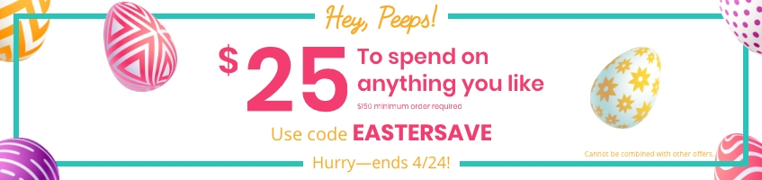 Easter Savings on Promotional Products