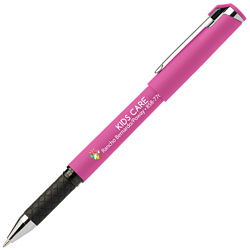 Customized Britebrand™ Bright Soft Touch Hughes Gelebration™ Gel Stylus Pen