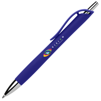 Customized Britebrand™ Soft Touch Iris Pen