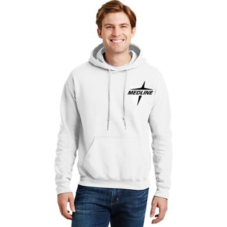 Customized Gildan® Ultra Blend Hooded Sweatshirt - White