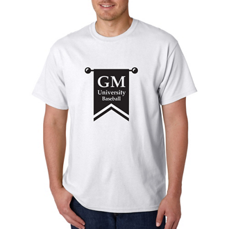Customized Gildan® Adult Heavy Cotton™ White T-Shirt