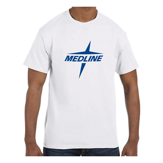 Customized Jerzees® Adult Dri-Power® Active White T-Shirt