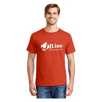 Customized Hanes 5.2 oz ComfortSoft® Cotton T-Shirt - Tagless