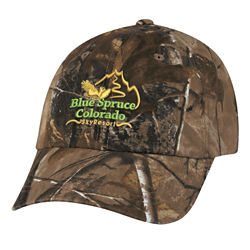 Customized Realtree / Mossy Oak Hunter's Hideaway Camo Cap