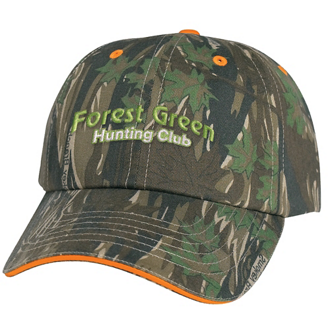 Customized Camouflage Cap