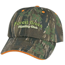 Customized Camouflage Cap