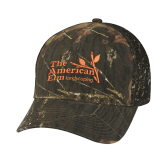 Customized Hunters Retreat Mesh Camo Cap