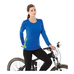 Customized Parima Long Sleeve Tech Tee - Women's