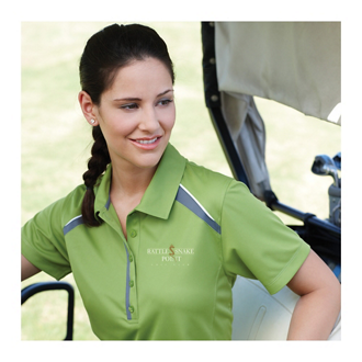 Customized Quinn Short Sleeve Polo - Women's