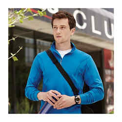 Customized Caltech Knit Quarter Zip - Men's