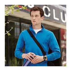 Customized Caltech Knit Quarter Zip - Men's