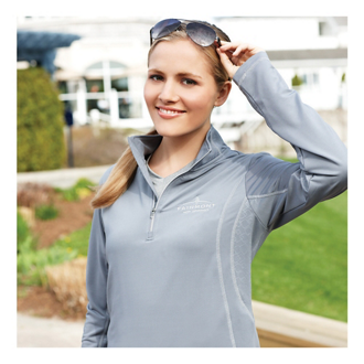 Customized Caltech Knit Quarter Zip - Women's
