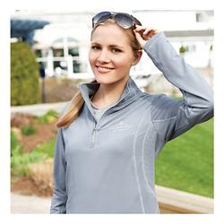 Customized Caltech Knit Quarter Zip - Women's