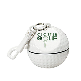 Customized Golf Ball with Rain Poncho