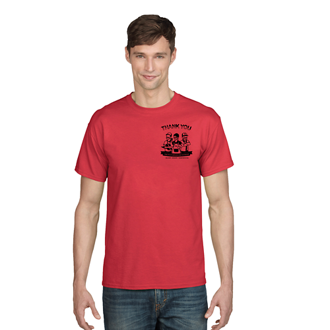 Customized Gildan® DryBlend™ T-Shirt-Colors