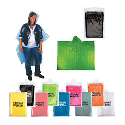 Customized Disposable Rain Poncho