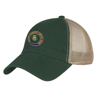 Customized Washed Cotton Mesh Back Cap