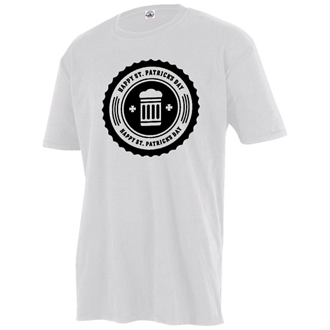 Customized Delta Ringspun 30/1's Unisex Fitted Tee-White