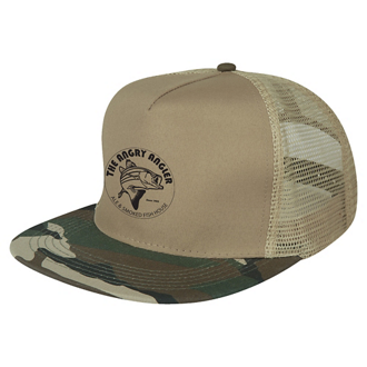Customized Camo Flatbill Cap