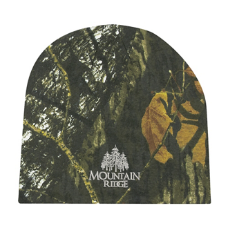 Customized Realtree and Mossy Oak Camouflage Beanie