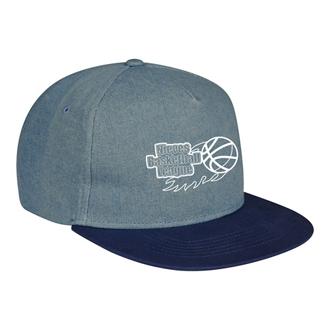Customized Shades of Blue Denim Cap