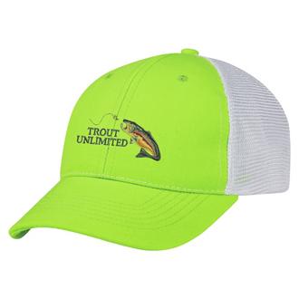 Customized Two-Tone Mesh Cap