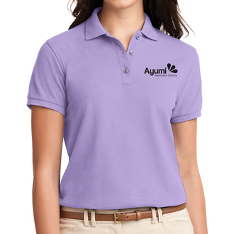 Customized Port Authority Ladies' Silk Touch Polo-Cls