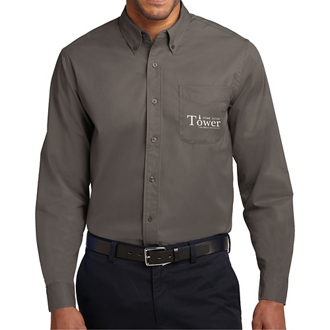 Customized Port Authority Long Sleeve Easy Care Shirt-Cls