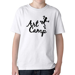 Customized Gildan® Youth Heavy Cotton™ T-Shirt-White