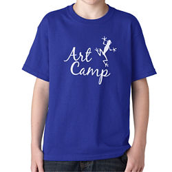 Customized Gildan® Youth Heavy Cotton™ T-Shirt-Colors