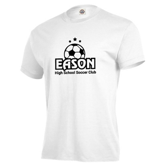 Customized Delta® Magnum Weight™ Adult SS Tee-White