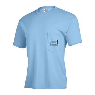 Customized Delta® Magnum Weight™ Adult Pocket Tee-Colors