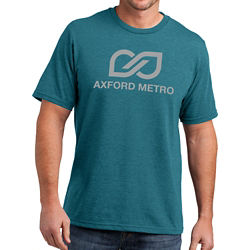 Customized District Made® Mens Perfect Blend® Crew T -Colours