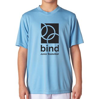 Customized UltraClub® Youth Cool & Dry Interlock Tee-Colors