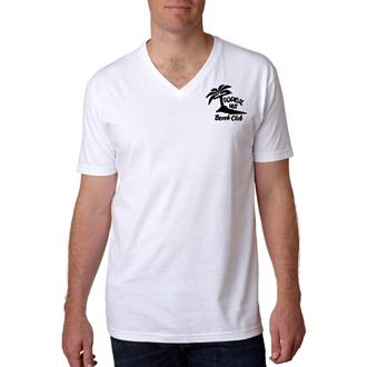 Customized Next Level™ Premium Fitted Short-Sleeve V Wht