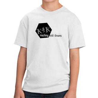 Customized Port & Company® Youth Cotton T-Shirt -Whites