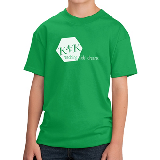 Customized Port & Company® Youth Cotton T-Shirt -Colors