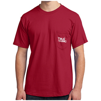 Customized Port & Company® All-American Tee with Pocket Cls