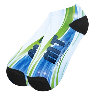 Customized Unisex Ankle Socks Large