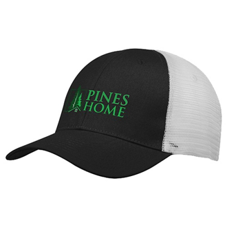 Customized Buttonless Mesh Back Cap