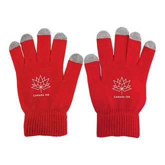 Customized Touch Screen Gloves