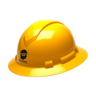 Customized Full Brim Hard Hat