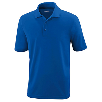 Customized Core365® Men's Origin Antimicrobial Pique Polo Shirt