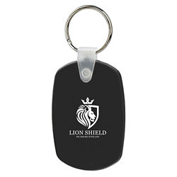 Customized Soft Key Tags - Oval