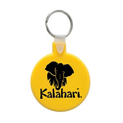 Customized Soft Key Tags - Round