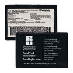 Customized Insurance Card with Pocket