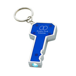 Customized Key Shape LED Keychain