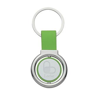 Customized Circular Metal Spinner Key Tag