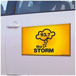 Customized Car Sign Magnet - Full Color